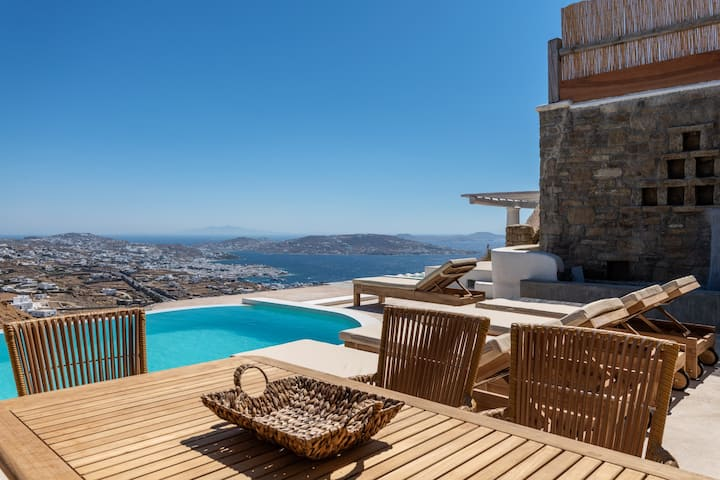 Mykonos Divino NEW 2bd Sea View villa Private pool