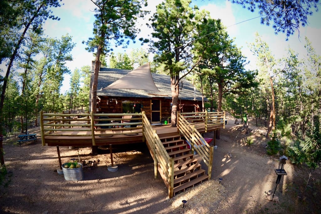 Rocky Mountain Cabin Cottages For Rent In Florissant