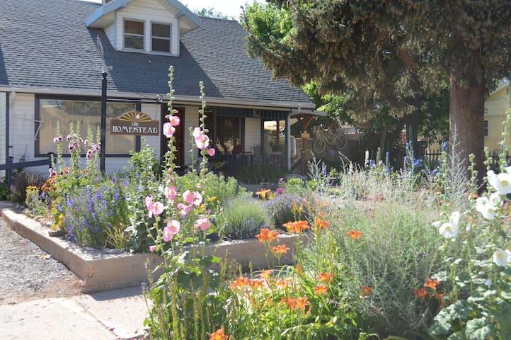 The Homestead: A Unique Farmhouse Retreat