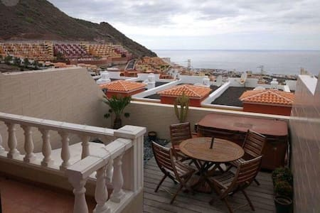 Awesome Villa: Oceanview Jacuzzi - Costa Adeje - Villa