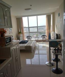 草原明珠锡林浩特市中心维多利大厦高层观景公寓摩尔浪漫小屋