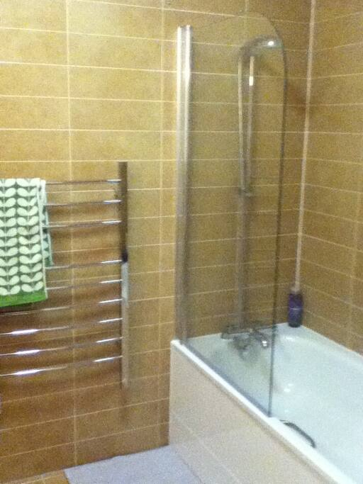 Sole use of this bathroom with power shower.