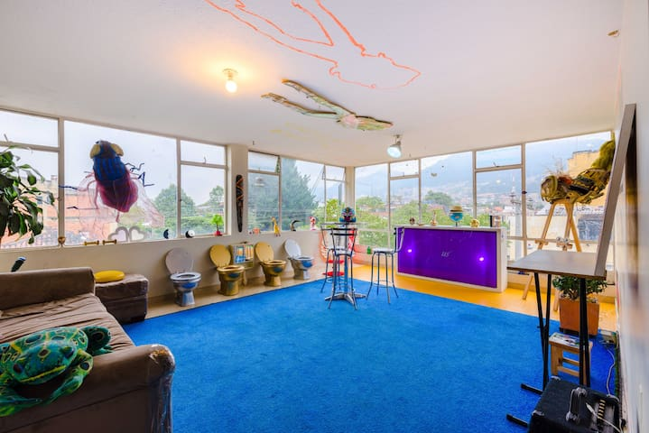 Creative Fun Artist Studio - Bogotá - Apartment
