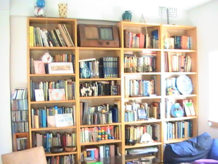 Library in the Living Room