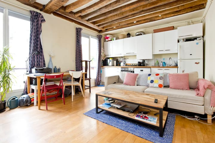 Superb 2room in heart of Paris - Canal St Martin