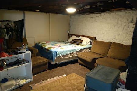 St. Louis Basement King Bed - St. Louis - Appartamento