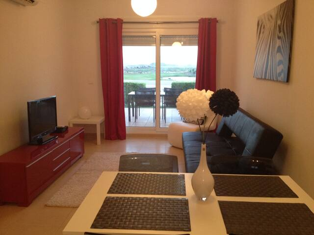 Holiday apartment with golf on large complex - Alhama de Murcia