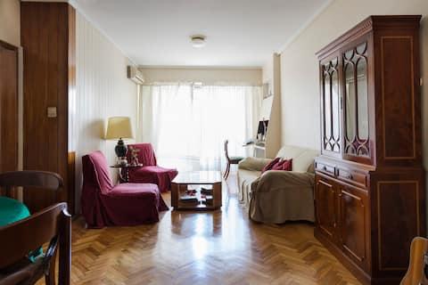 Cozy Room with Private Bathroom in Recoleta