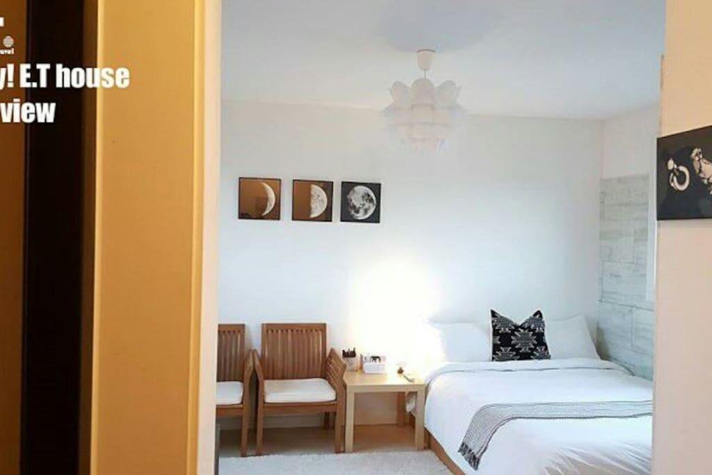 구스다운침구와 면100%호텔침구사용 매일세탁건조후교체. 청결
