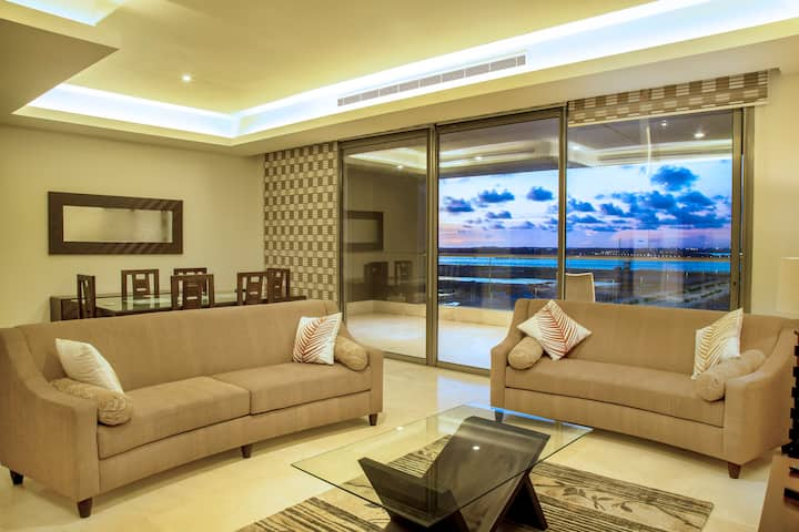 FURNISHED 3BR APARTMENT IN EKO ATLANTIC CITY