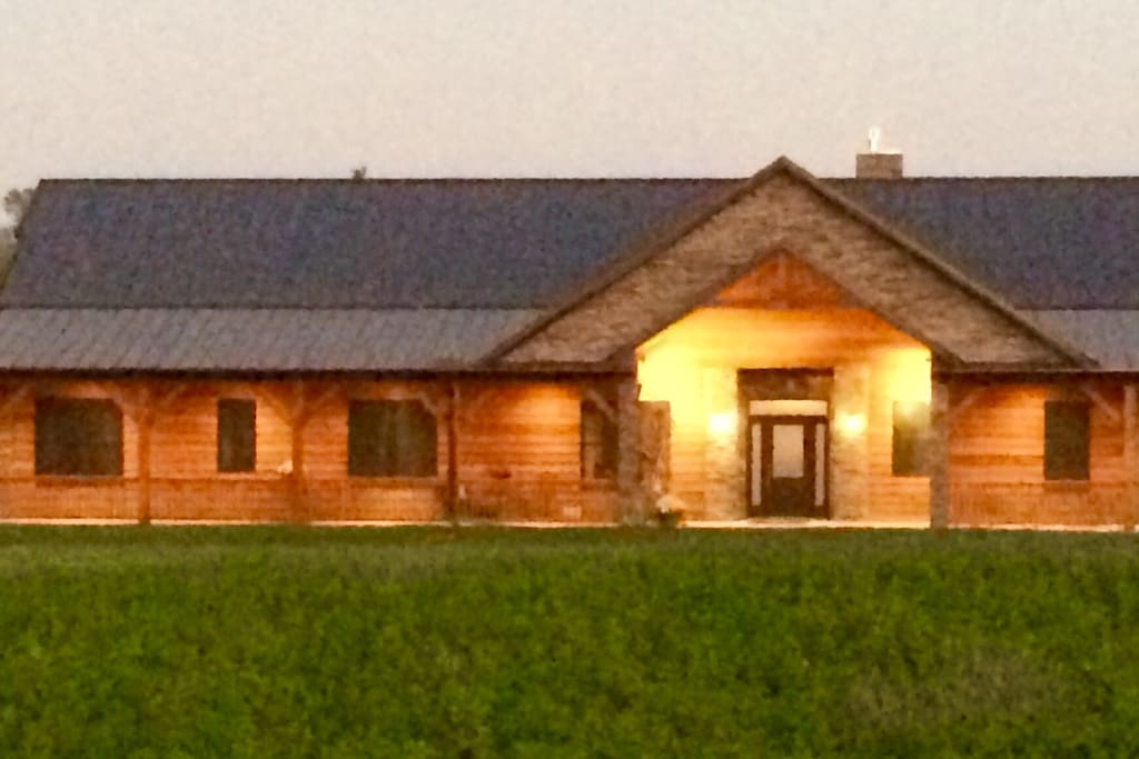 Farmhouse in the evening!