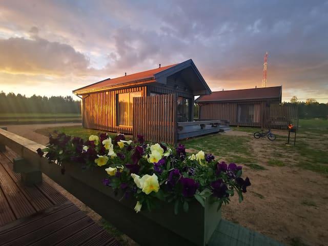 Green Valley vacation homes, Roja, Latvia