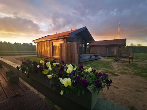 Green Valley vacation homes, Roja, Latvia