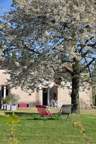 """Chez""""Grand-Mère"""", comme à la maison - Saint-Aubin-du-Plain - บ้าน"""