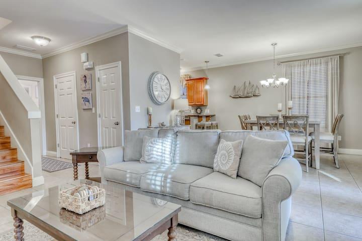 Luxury, dog-friendly, & private home w/ a shared pool, hot tub, & beach access