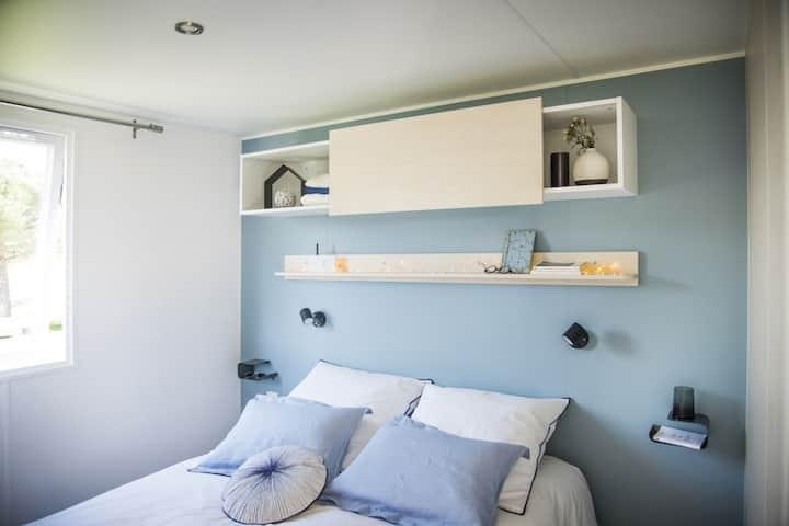 Mobil home tout confort de 34m² dans Camping 3 *