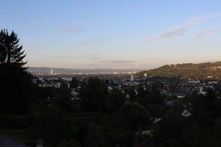Ruhige 80qm mit Blick über Lö und Basel (=110qm) - Lörrach