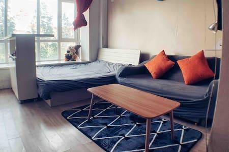 经典70平两层复式公寓,loft结构,双卧双卫,近西安路商圈,全封闭小区,适合一家人或情侣使用。