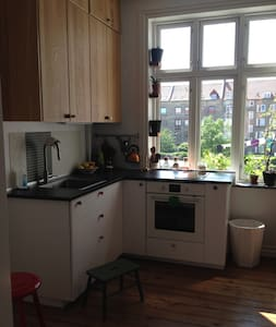 Raw decor with a warm and homely atmosphere - Aalborg - Lägenhet