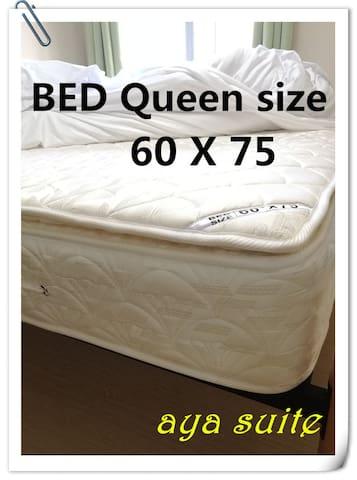 BED Queen size 60x75