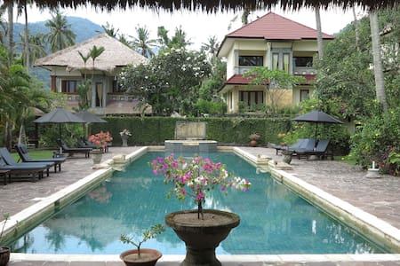 Villa in resort Secret Garden Senggigi Lombok