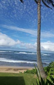 Lanai room ocean front - Haleiwa