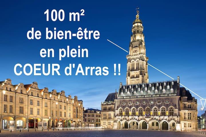 Apartment 100 M2 Arras au pied du Beffroi