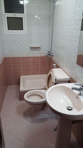 Small room with private bath corniche abu Dhabi