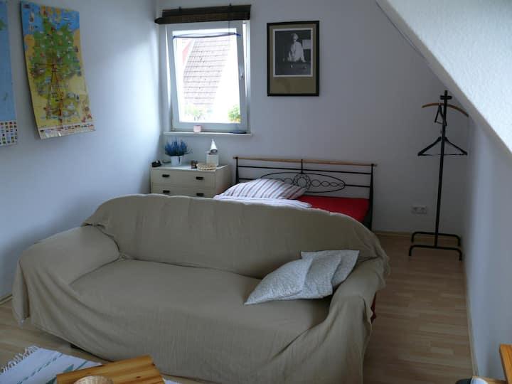 Sunny room near the university