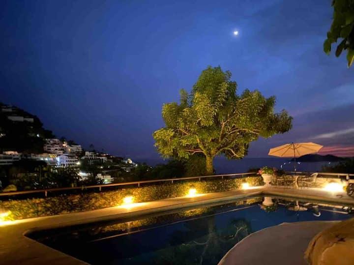 Hermosa casa, vista fantastica, ideal para todos!
