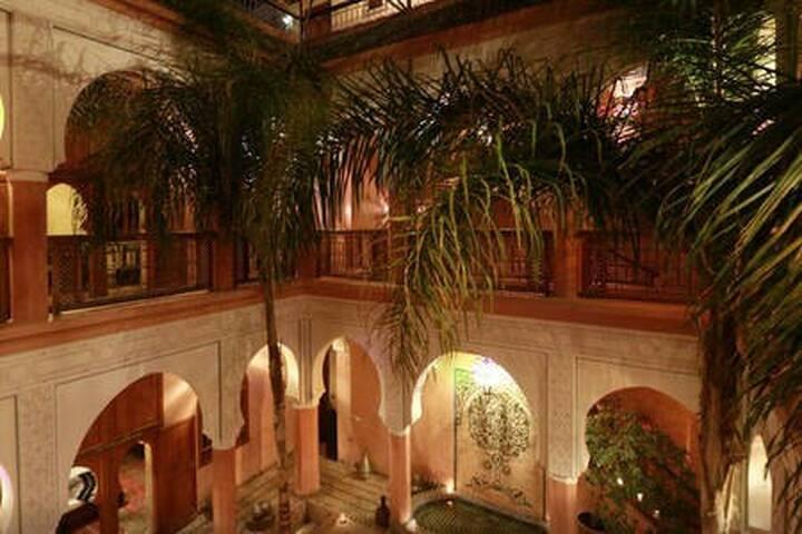 J. Riad calme spa & Hammam; Piscine, Marrakech