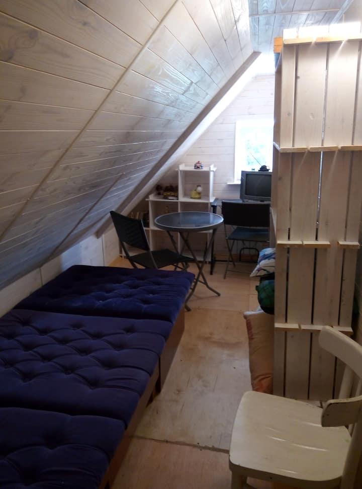 Одноместная комната в гостевых апартаментах