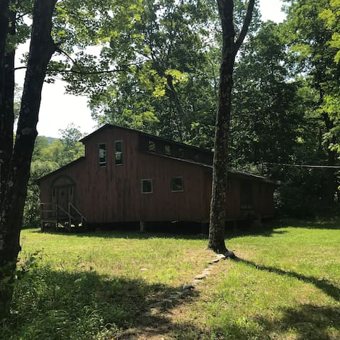 Artist barn available for your use for an extra $50 per night