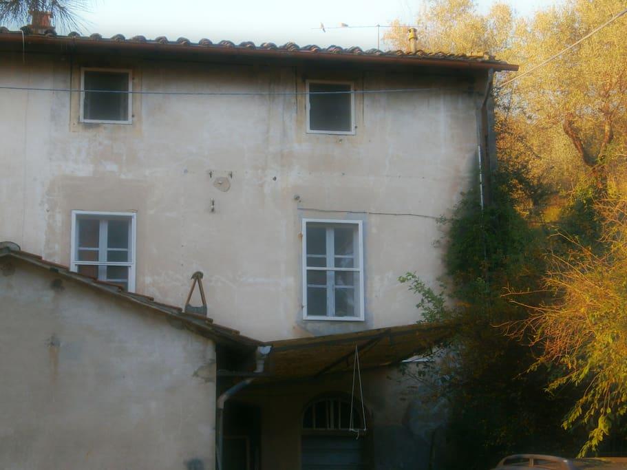 L'appartamento indipendente ricavato dall'abitazione.