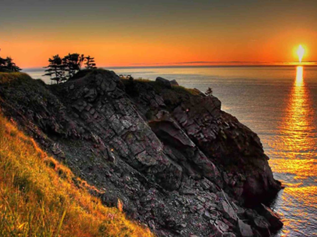 Meat Cove Sunset :)just a 10min drive away :)