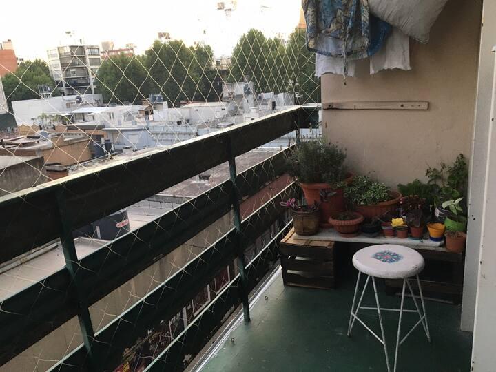 Habitación Centro Montevideo (Av. 18 de Julio)