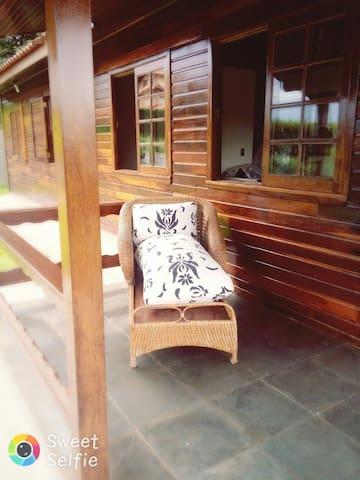 Casa Mte Alegre com diversão, conforto e segurança - Amparo - Rumah