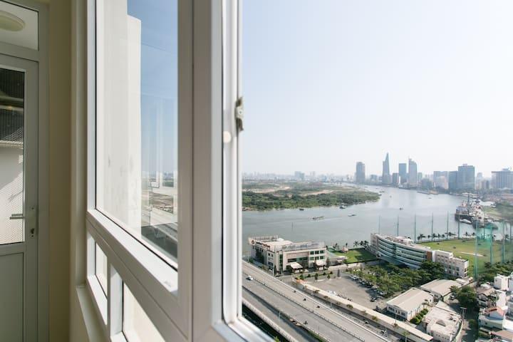 24th floor Apartment Riverside90 - Ho chi minh - Leilighet