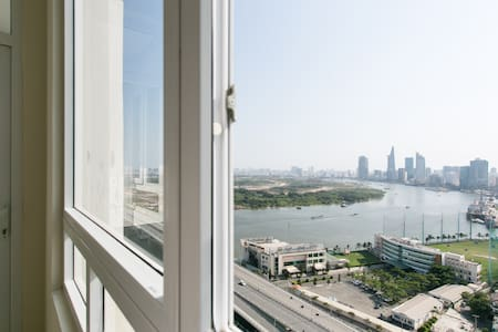 24th floor Apartment Riverside90 - Ho chi minh - Byt