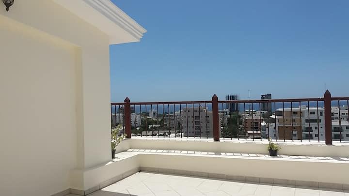 Encantador Penthouses con Vista al Mar