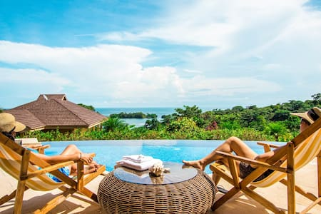 Villa privada en Bocas del Toro - Red Frog Beach