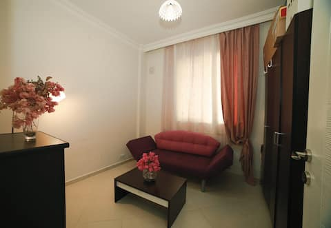 Cozy room in silent location