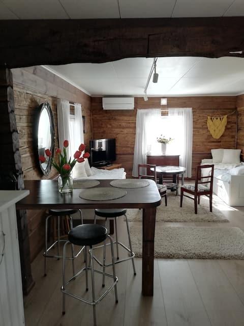 Litet fristående hus i Vähäraumaa