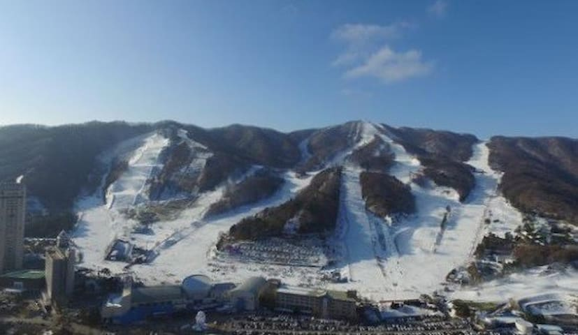 Pyeongchang Winter Olympic View Apartment - Bongpyeong-myeon, Pyeongchang-gun - Lägenhet