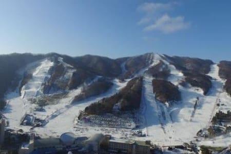 Pyeongchang Winter Olympic View Apartment - Bongpyeong-myeon, Pyeongchang-gun - Wohnung