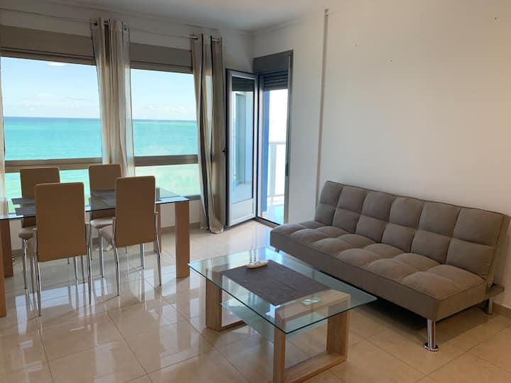 Квартира с фронтальным видом на море , La Manga