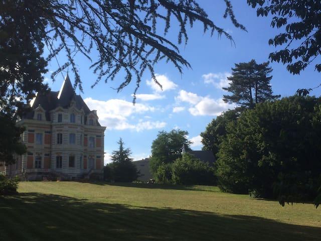 Château  dans beau parc arbore - Avrillé - Zamek