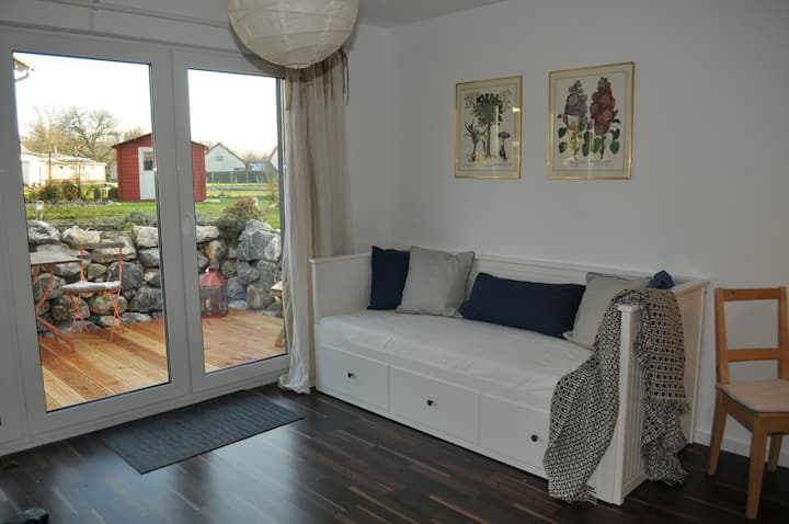 Nice flat with terrace near Lake Constance