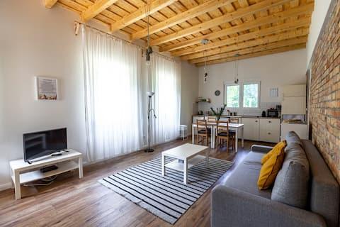Casa nueva de 3 habitaciones, grapadora Balaton, casa del tío Boldi
