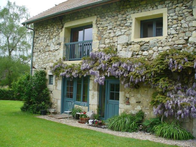 Belle  grange en pierre restaurée - Billième - 단독주택